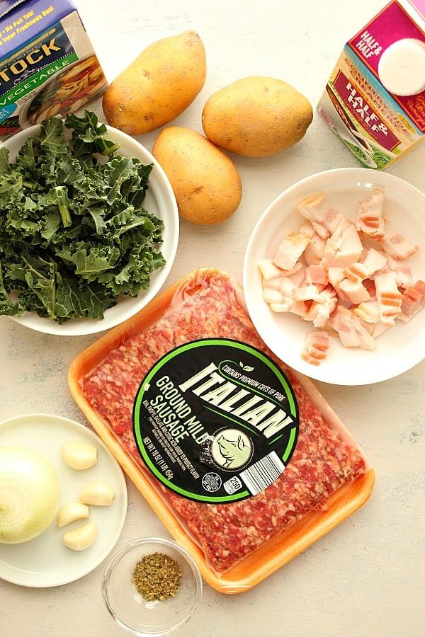 zuppa toscana ingredients Zuppa Toscana