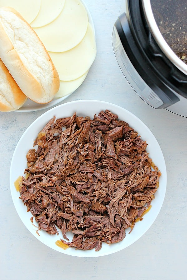 IP French Dip F Instant Pot French Dip Sandwiches