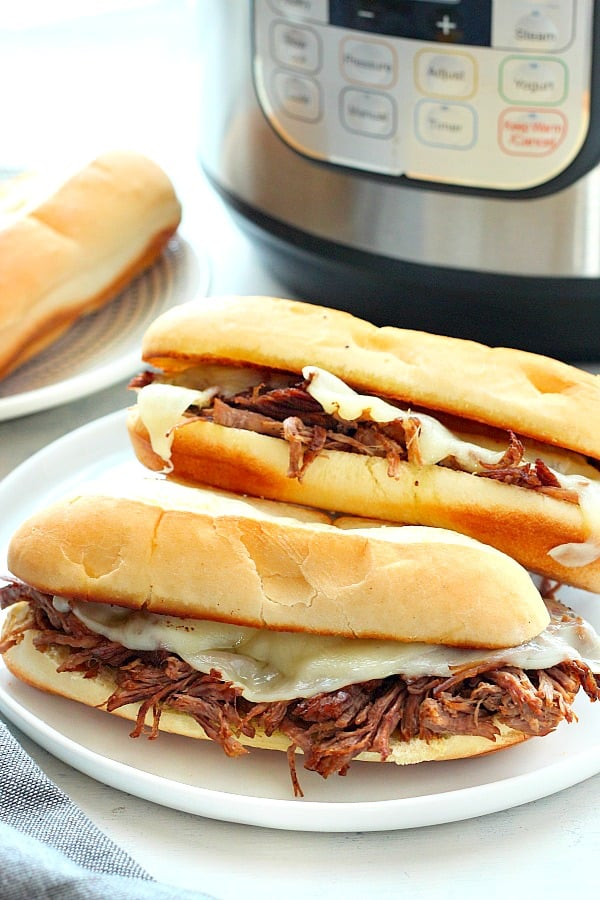 IP French Dip Sandwich D1 14 Day Instant Pot Meal Plan