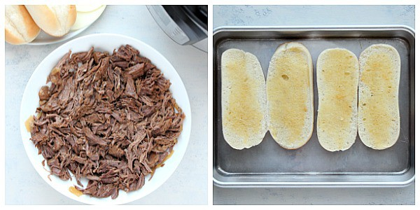 IP French Dip step 2 Instant Pot French Dip Sandwiches