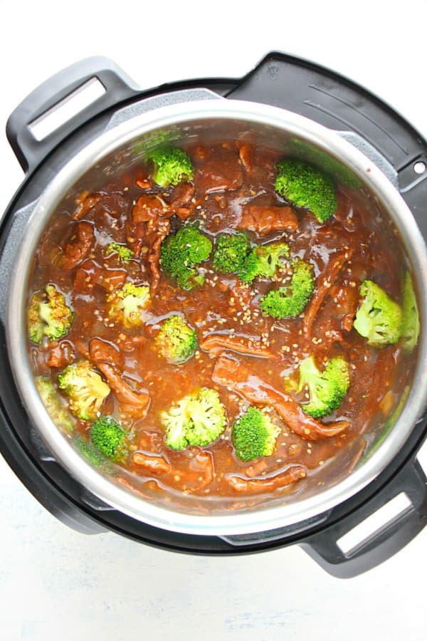Instant Pot beef and broccoli Aa Instant Pot Beef and Broccoli