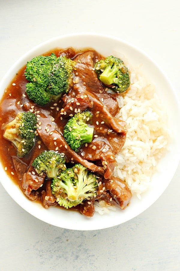 Instant Pot beef and broccoli B Instant Pot Beef and Broccoli