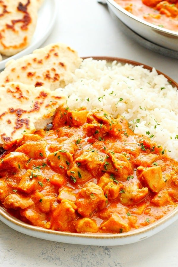 Easy Butter Chicken Crunchy Creamy Sweet