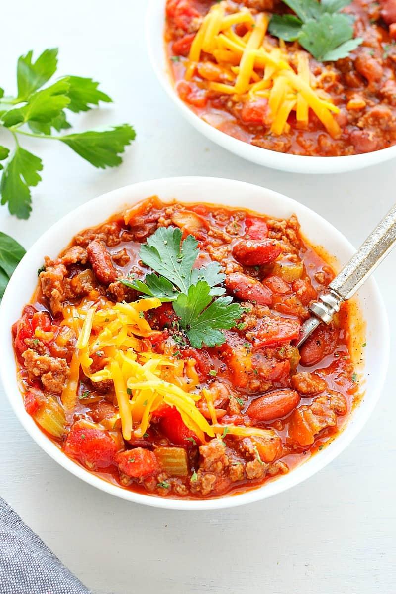 chili 1A Wendys Chili Copycat Recipe