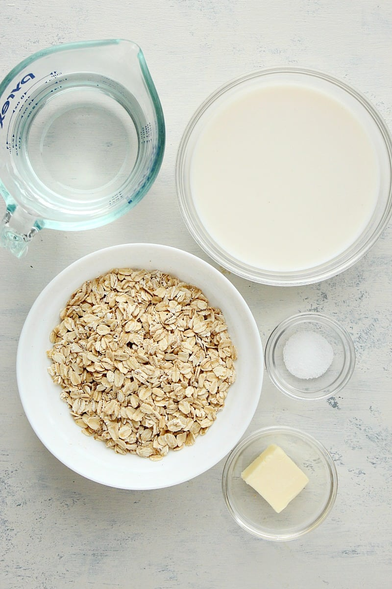 instant pot oatmeal ingredients Instant Pot Oatmeal