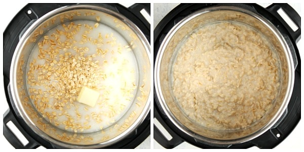 instant pot oatmeal steps Instant Pot Oatmeal