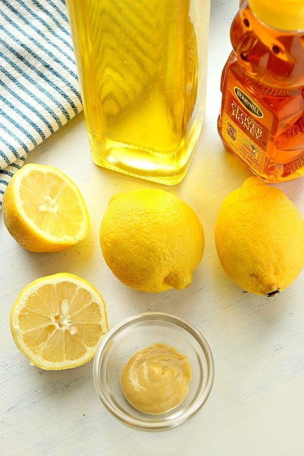 lemon dressing ingredients Easy Lemon Vinaigrette
