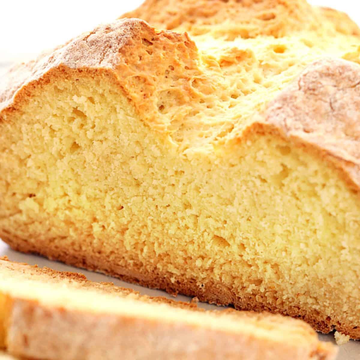 No Yeast Bread Crunchy Creamy Sweet