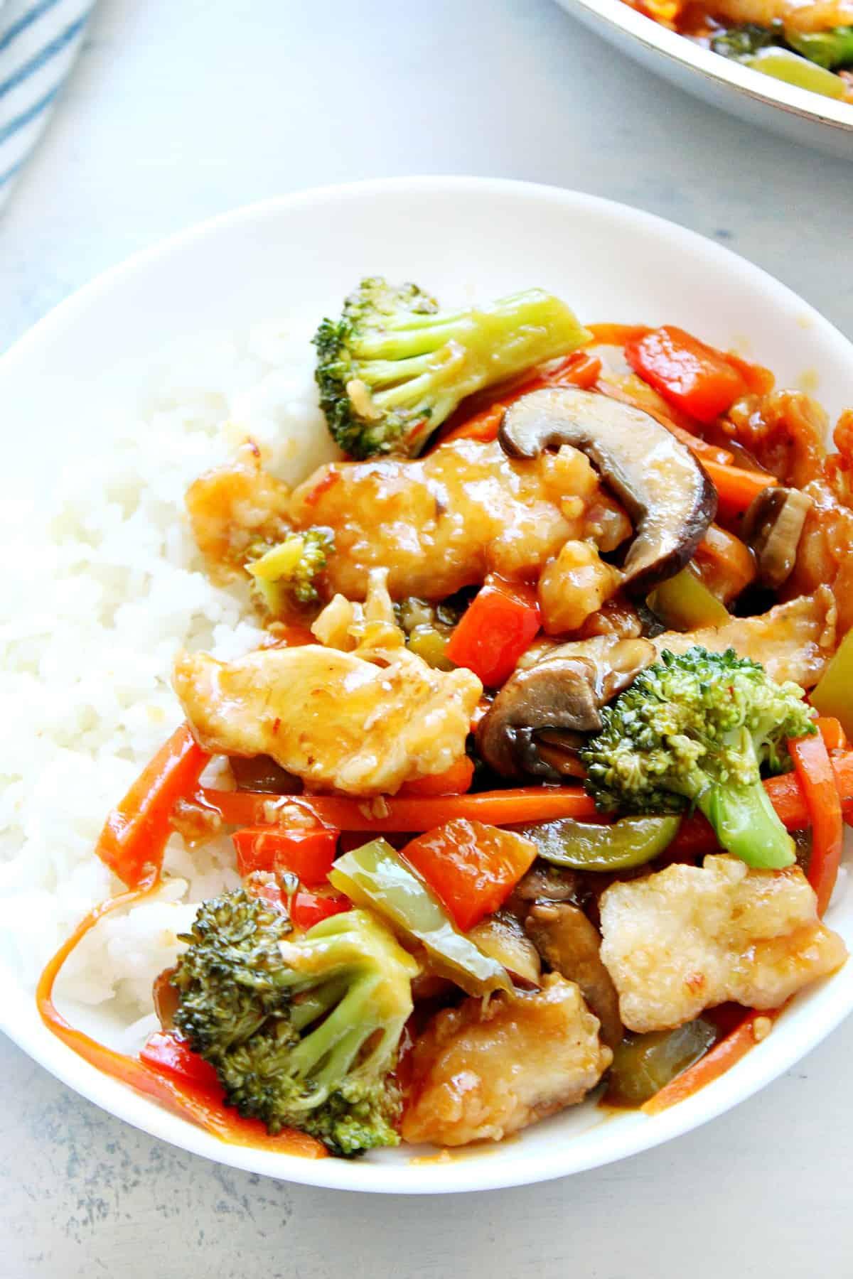 hunan chicken A Hunan Chicken