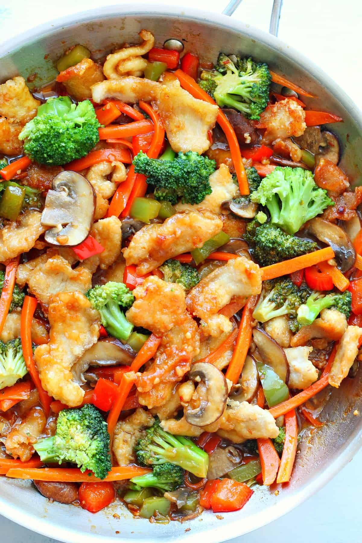 hunan chicken B Hunan Chicken