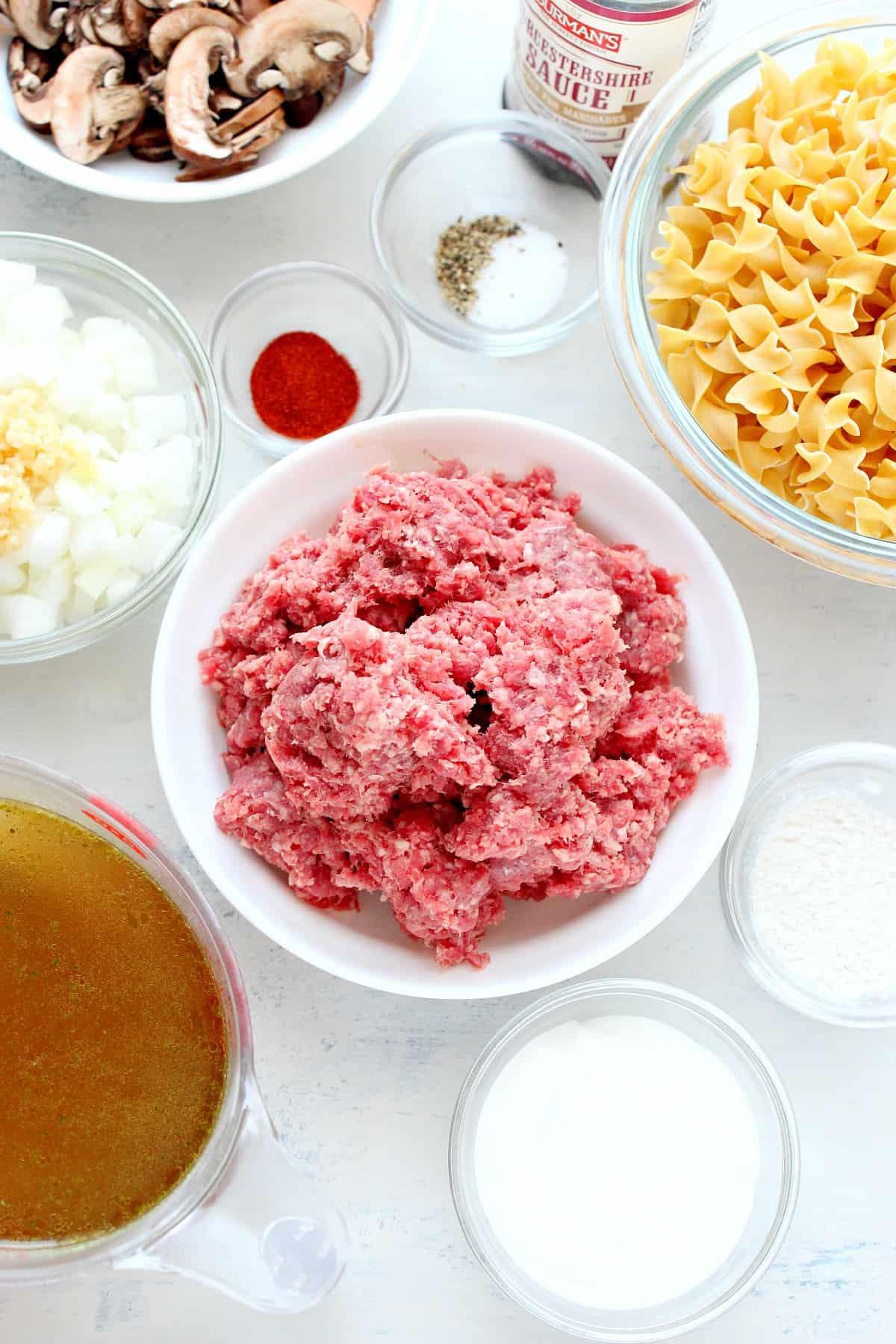 Instant Pot beef strogonoff Ingredientes Instant Pot Beef Strogonoff