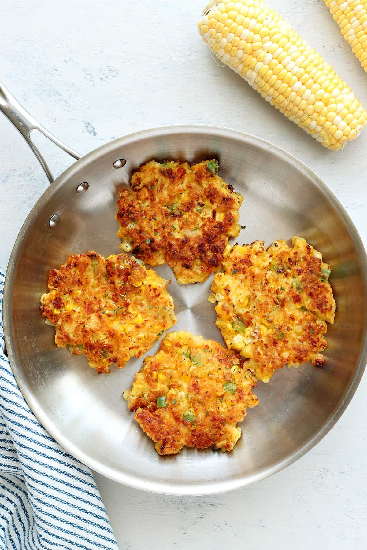 corn fritters B Best Corn Fritters