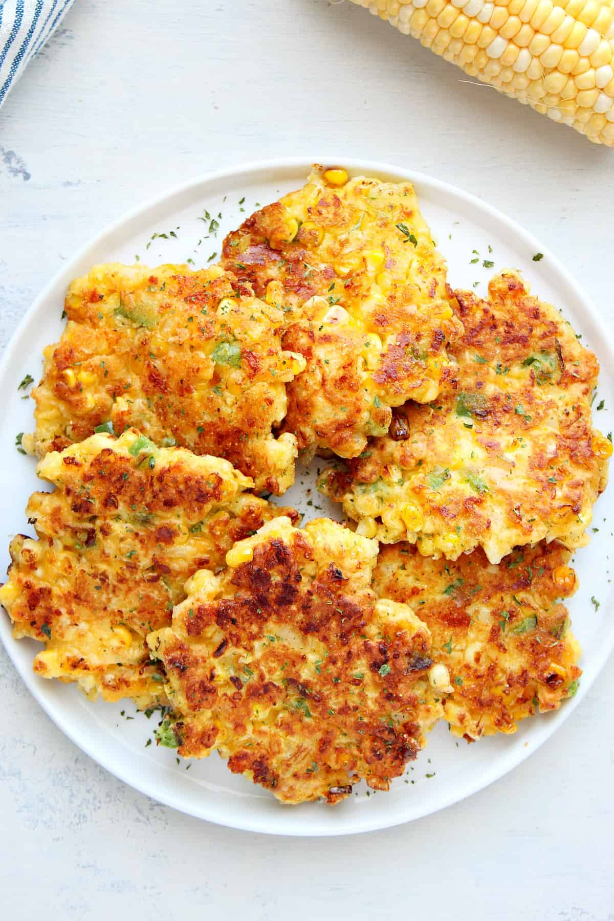 corn fritters C Best Corn Fritters
