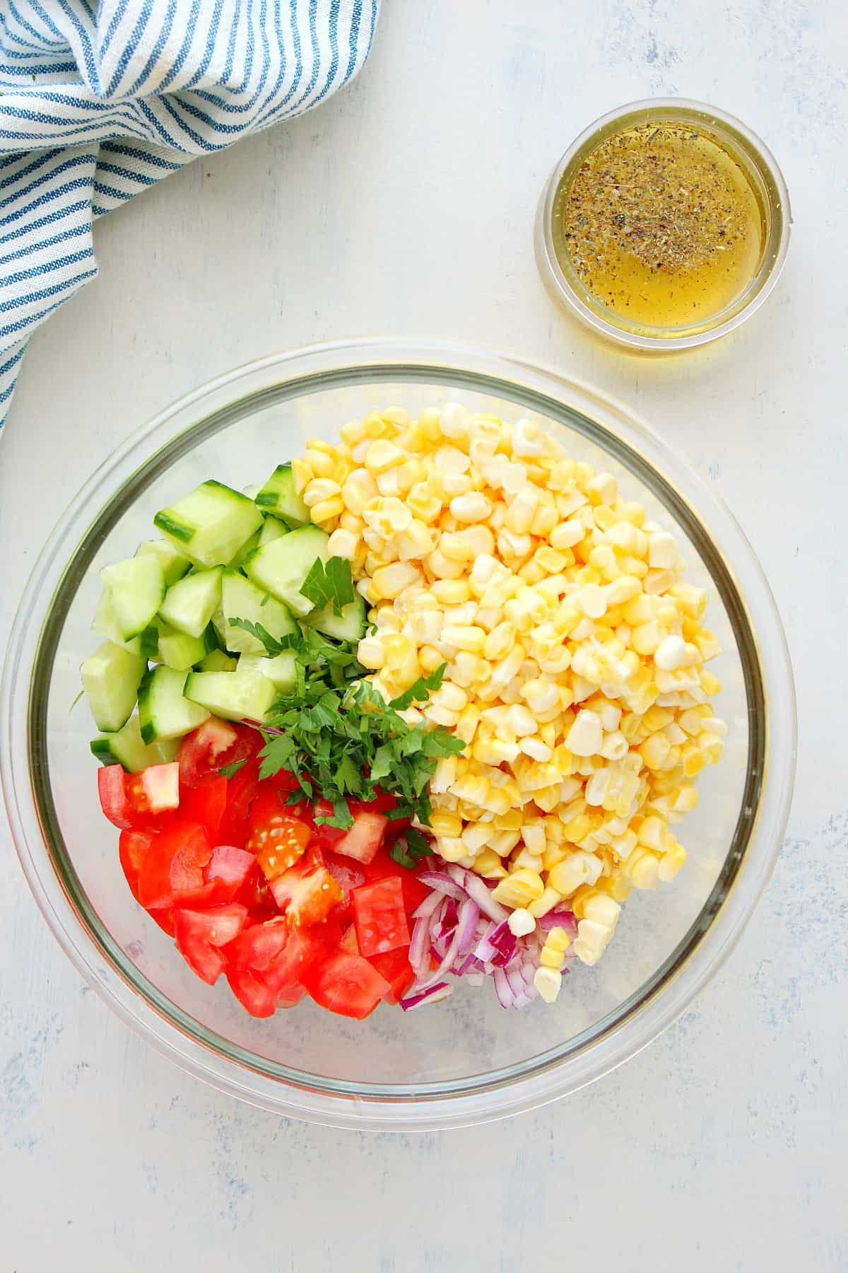 corn salad ingredients Fresh Corn Salad