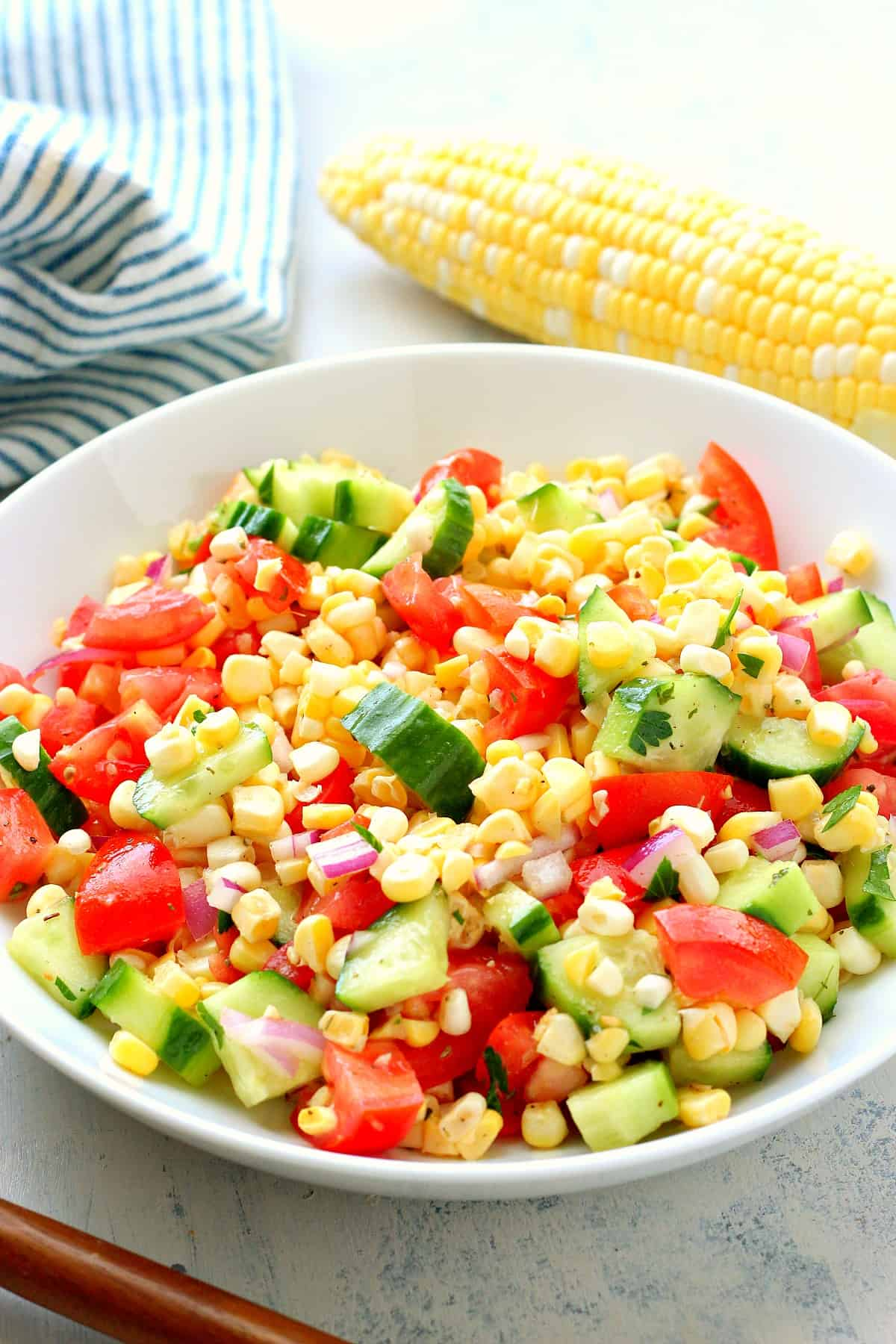 fresh corn salad B Fresh Corn Salad