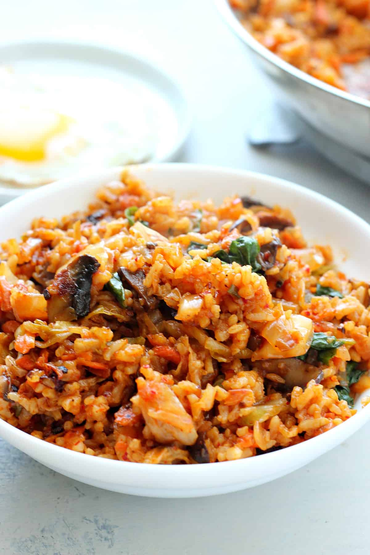 kimchi fried rice B Kimchi Fried Rice