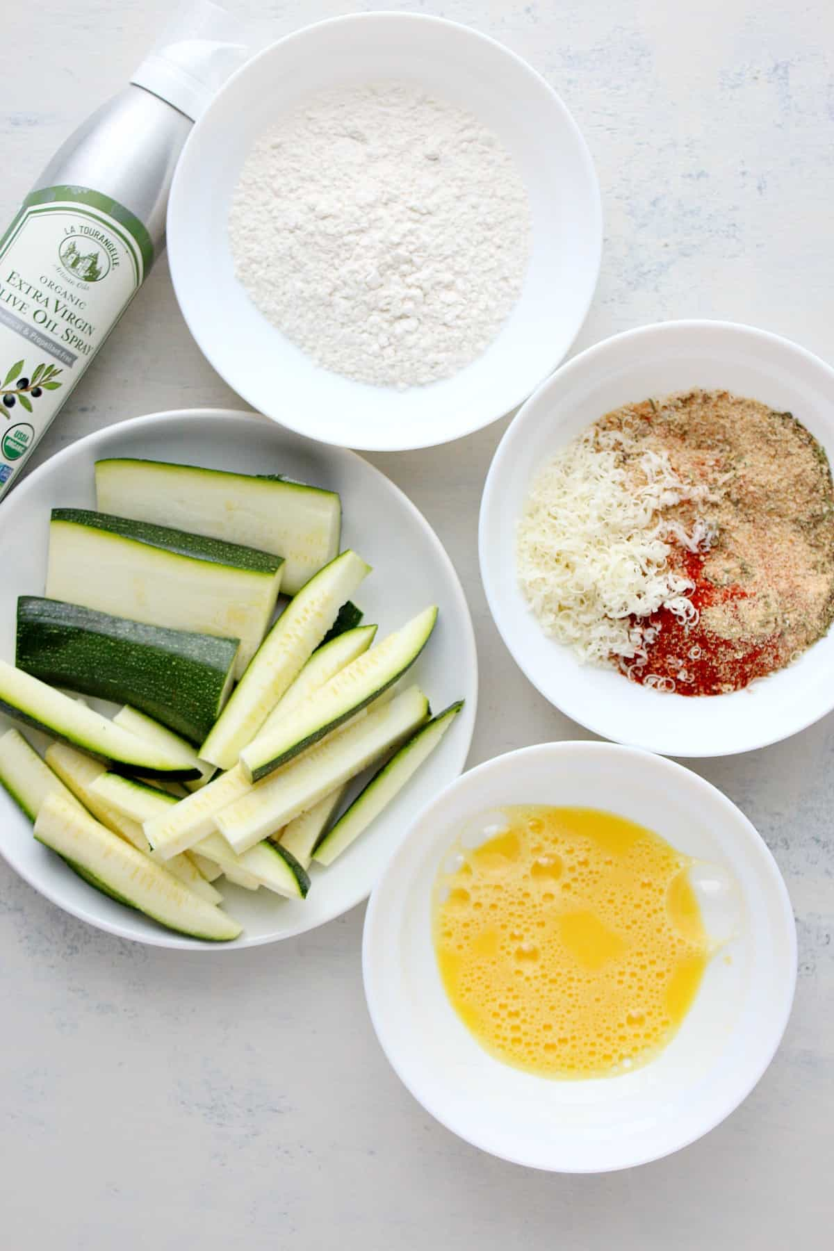 zucchini fries ingredients Crispy Zucchini Fries