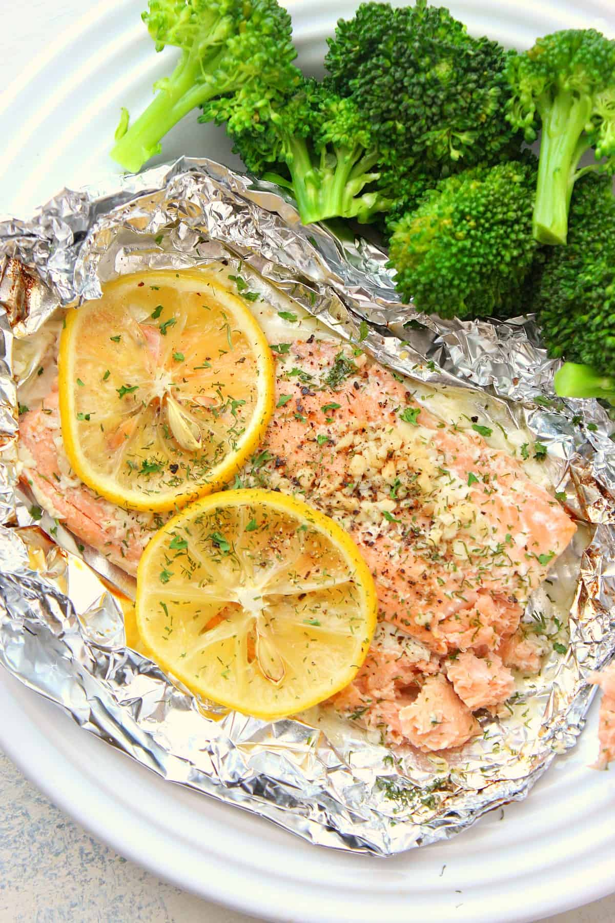 salmon packets A Salmon Foil Packets