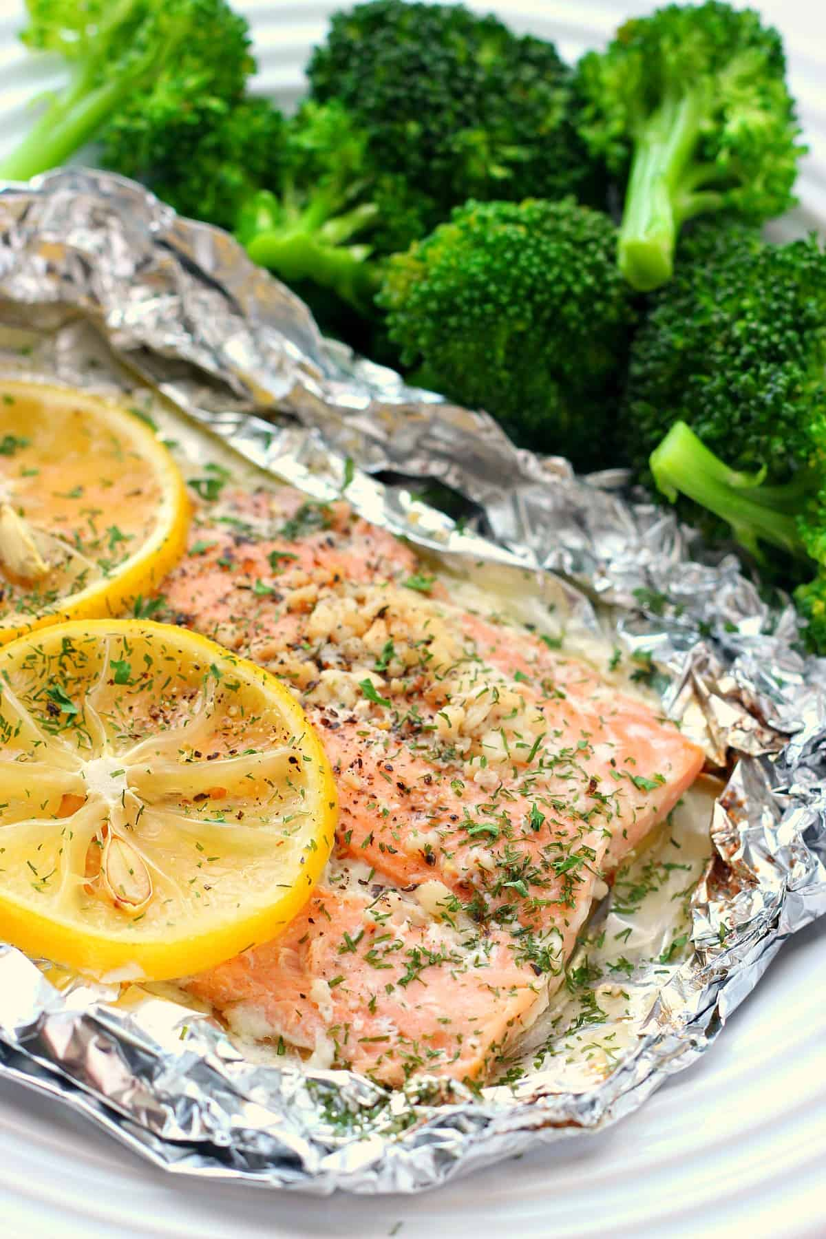 salmon packets B Salmon Foil Packets