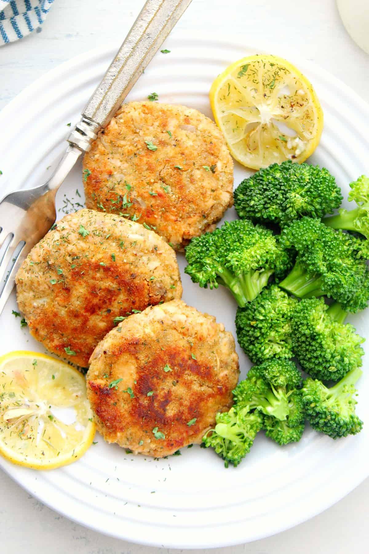 salmon patties B Best Salmon Patties