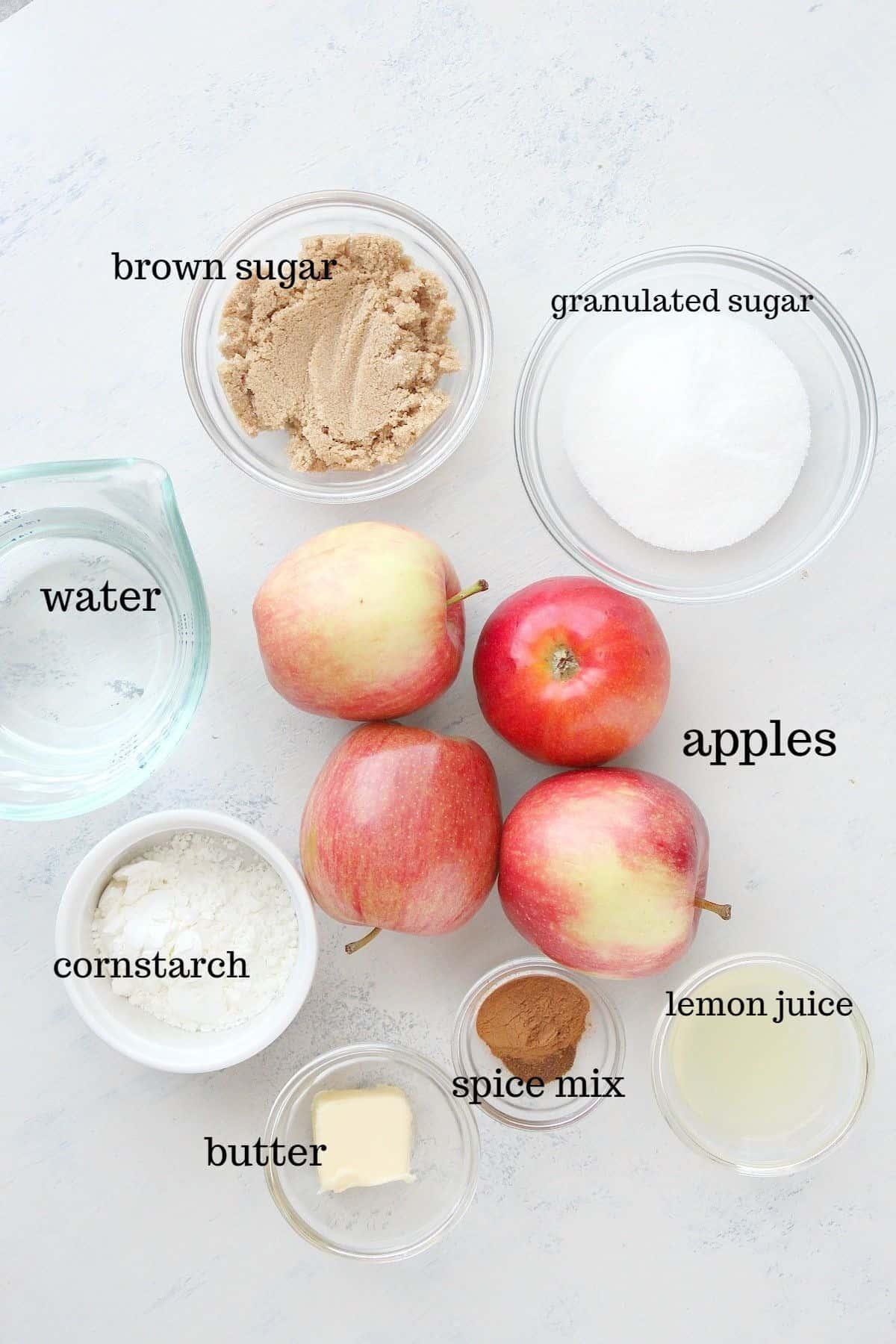 apple pie filling2ingredients Apple Pie Filling