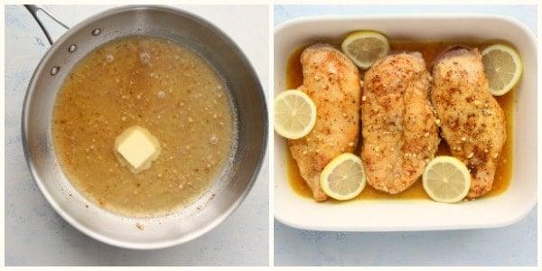 lemon pepper chicken step 3 and 4 Lemon Pepper Chicken