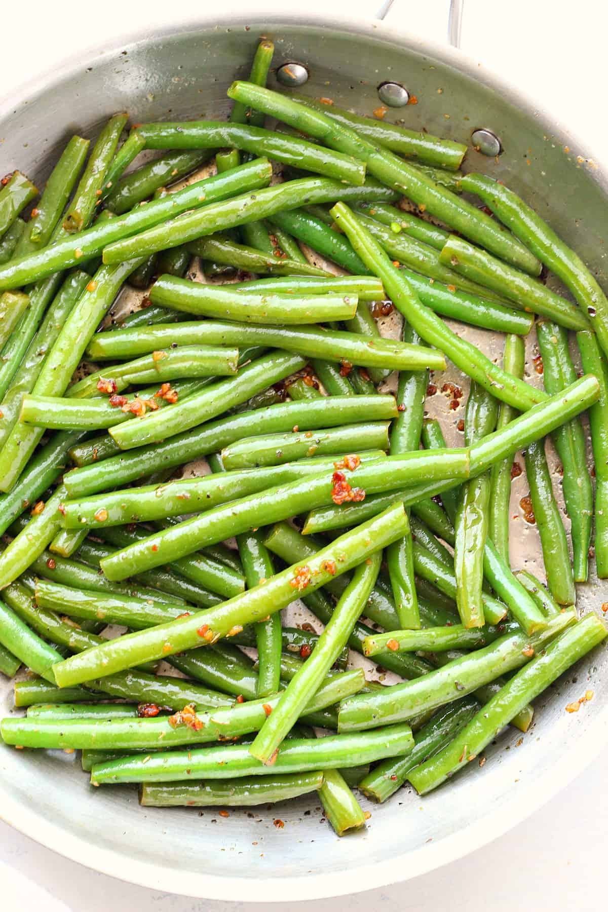 sauteed green beans A Sauteed Green Beans