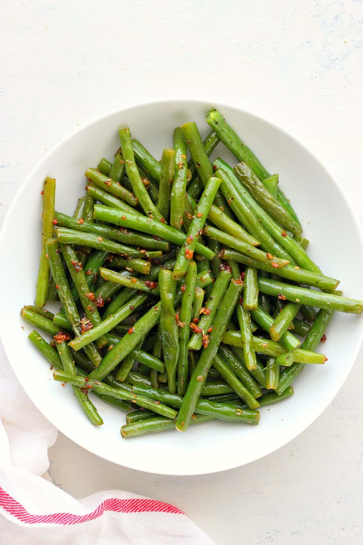 sauteed green beans B Sauteed Green Beans