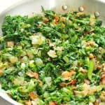 sauteed kale with bacon A 150x150 Sauteed Kale with Bacon
