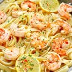 shrimp scampi B 150x150 Easy Shrimp Scampi Recipe