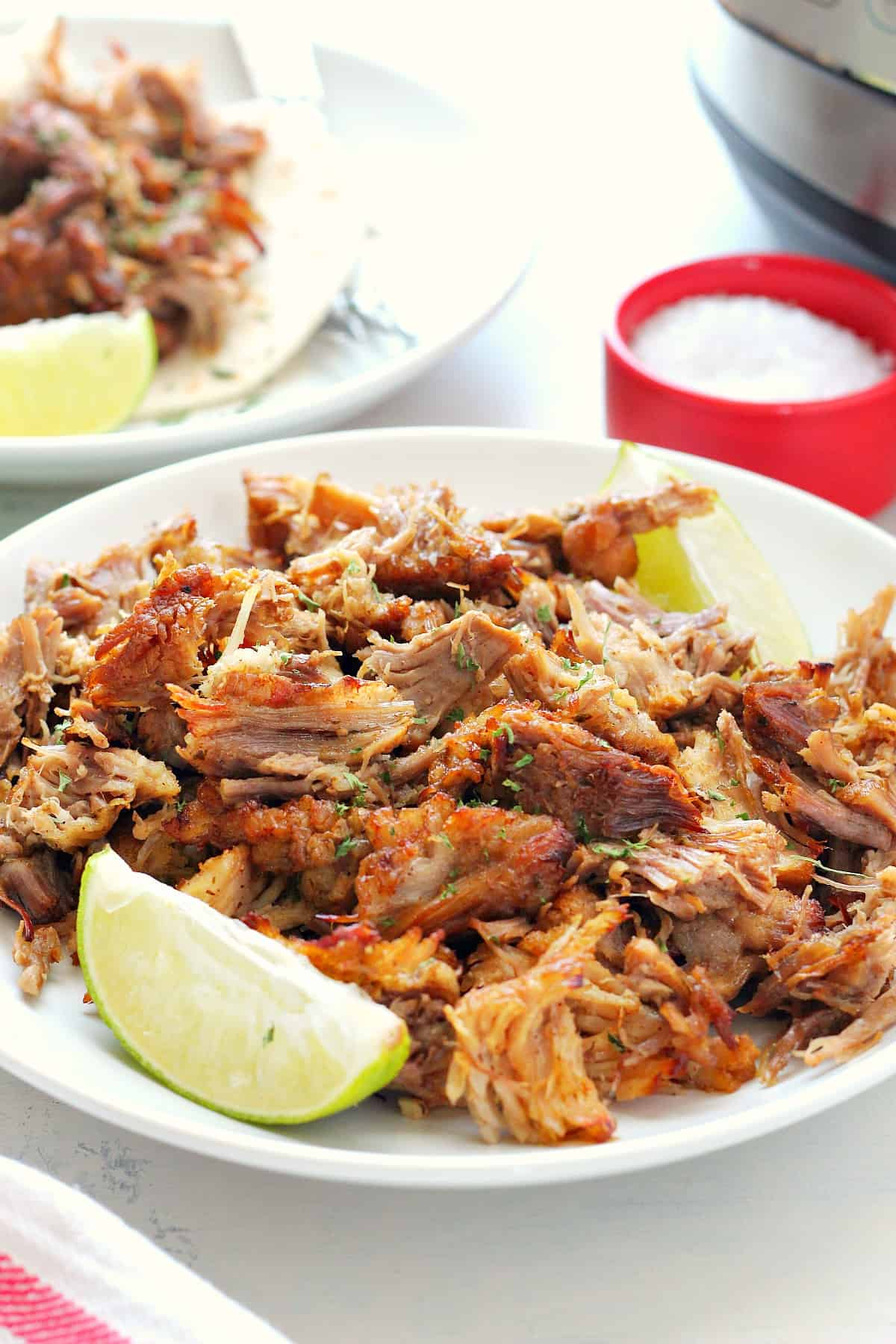 Easy Instant Pot Carnitas Crunchy Creamy Sweet