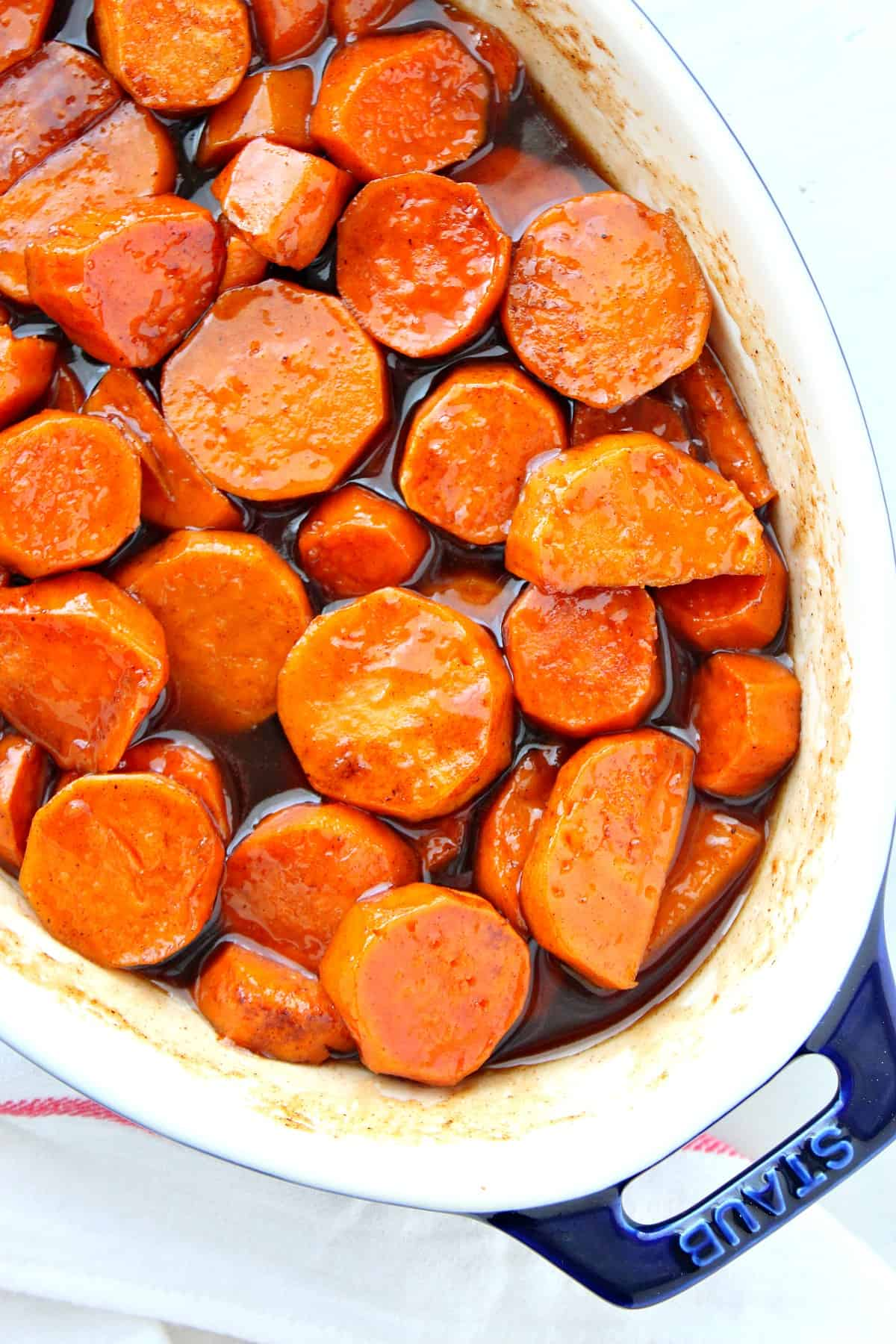 candied sweet potatoes 2 Candied Sweet Potatoes