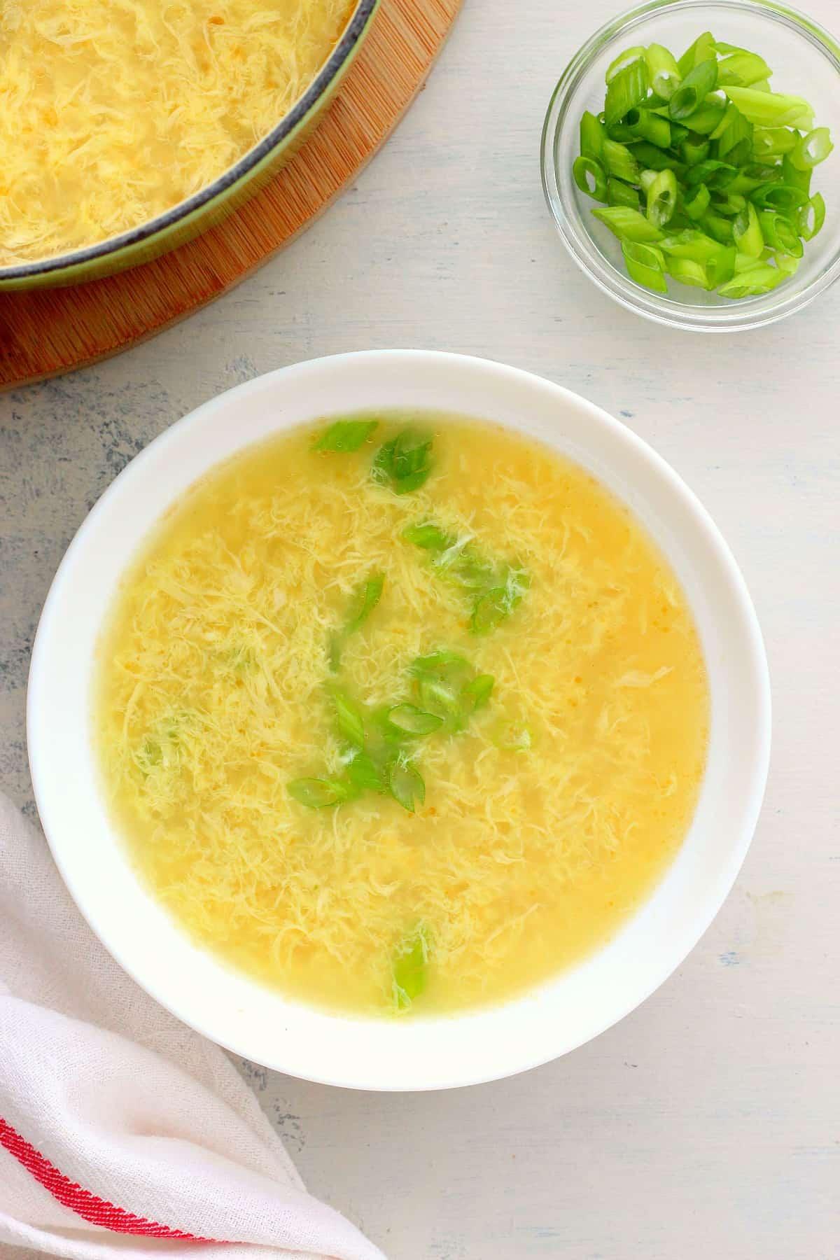 egg drop soup 1 Egg Drop Soup