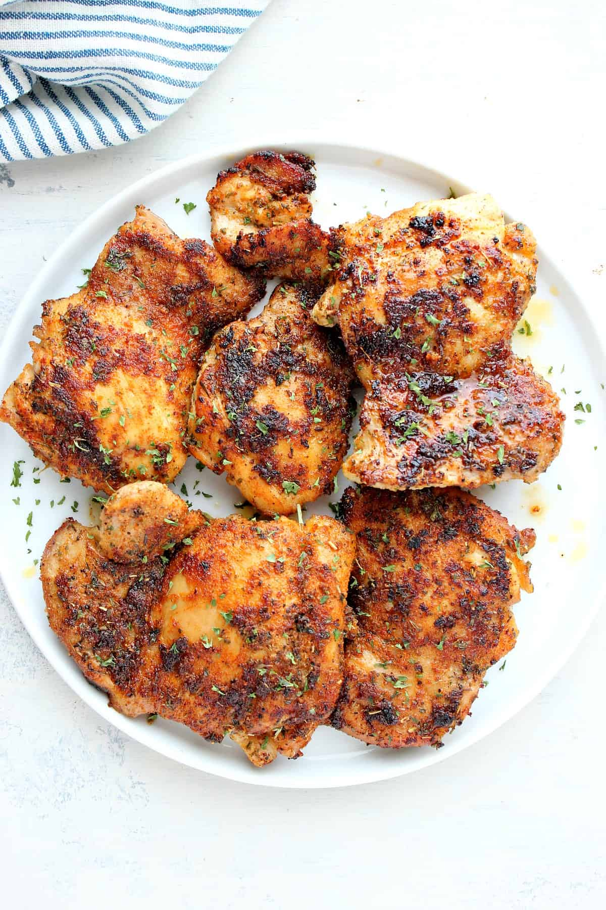stove top chicken thighs 3 Skillet Chicken Thighs