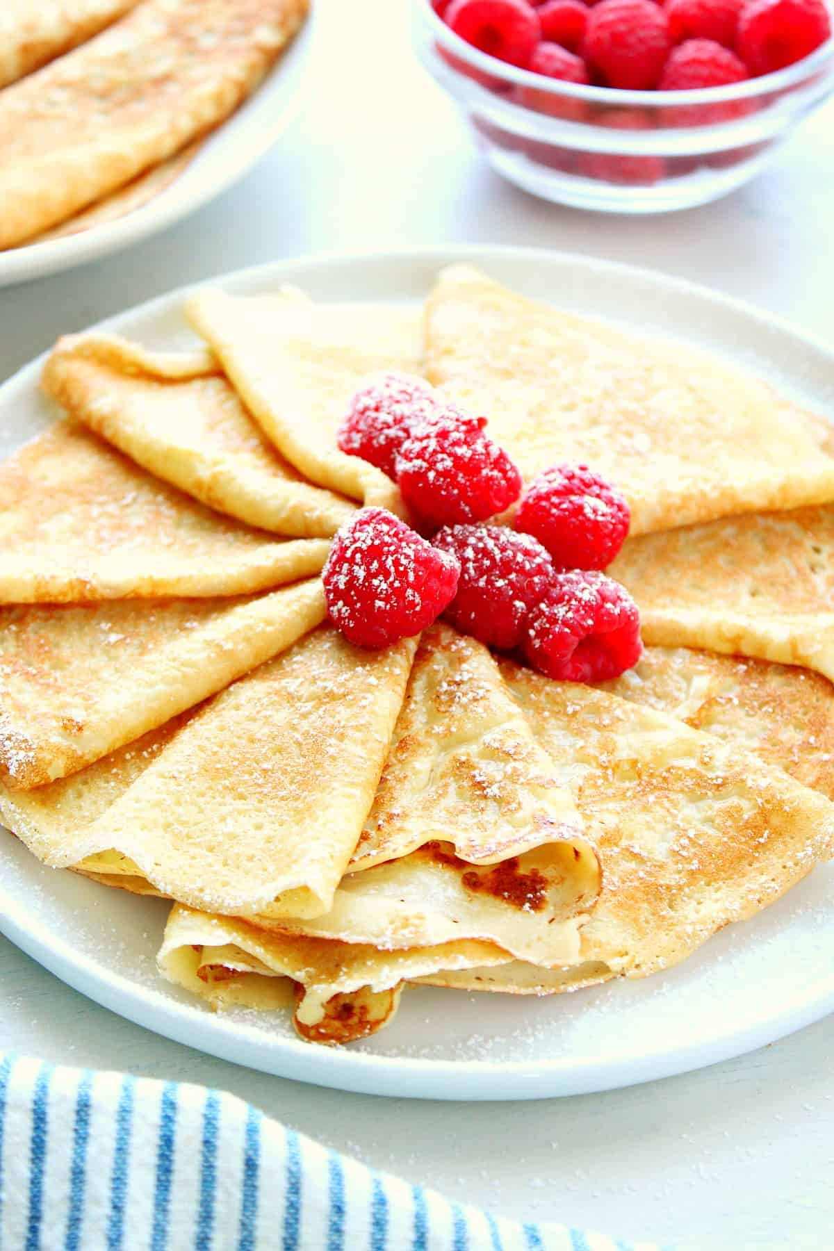 Easy Crepe Recipe Crunchy Creamy Sweet