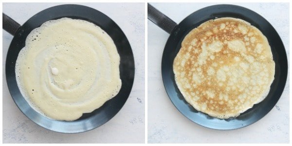 easy crepes step 3 and 4 Easy Crepe Recipe