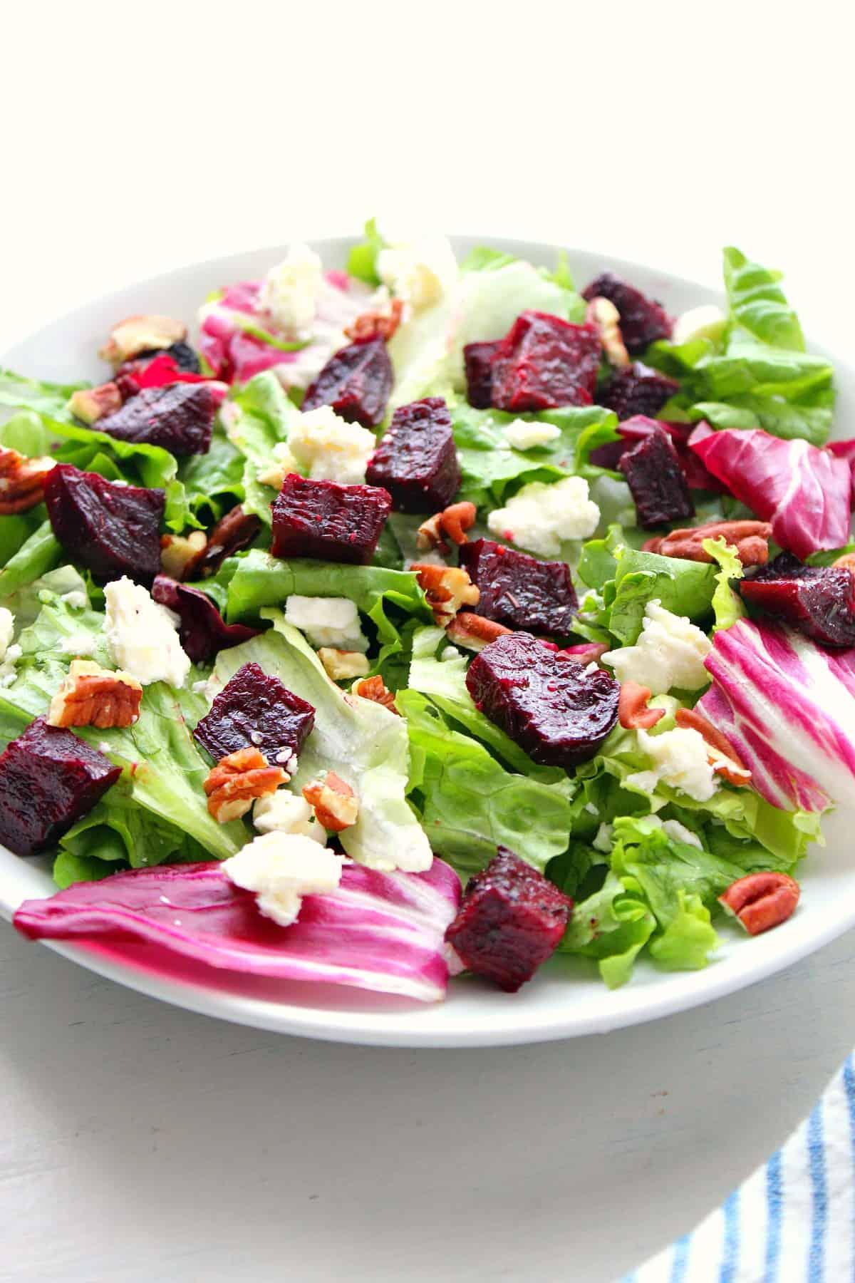 roasted beet salad B Roasted Beet Salad