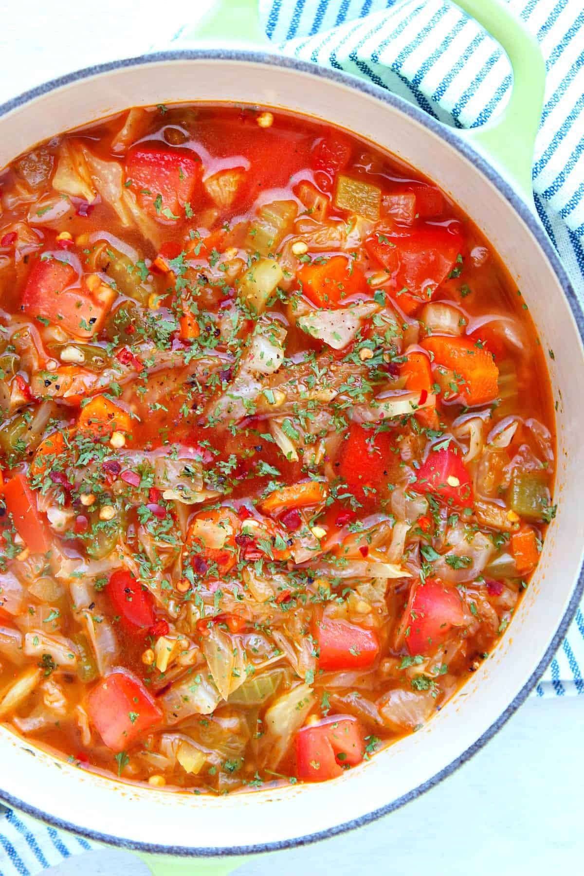 cabbage soup B Cabbage Soup