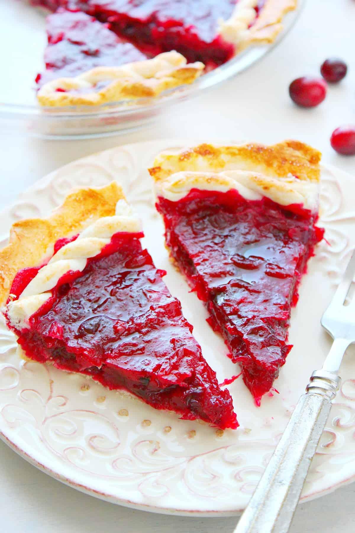 cranberry pie B Cranberry Pie