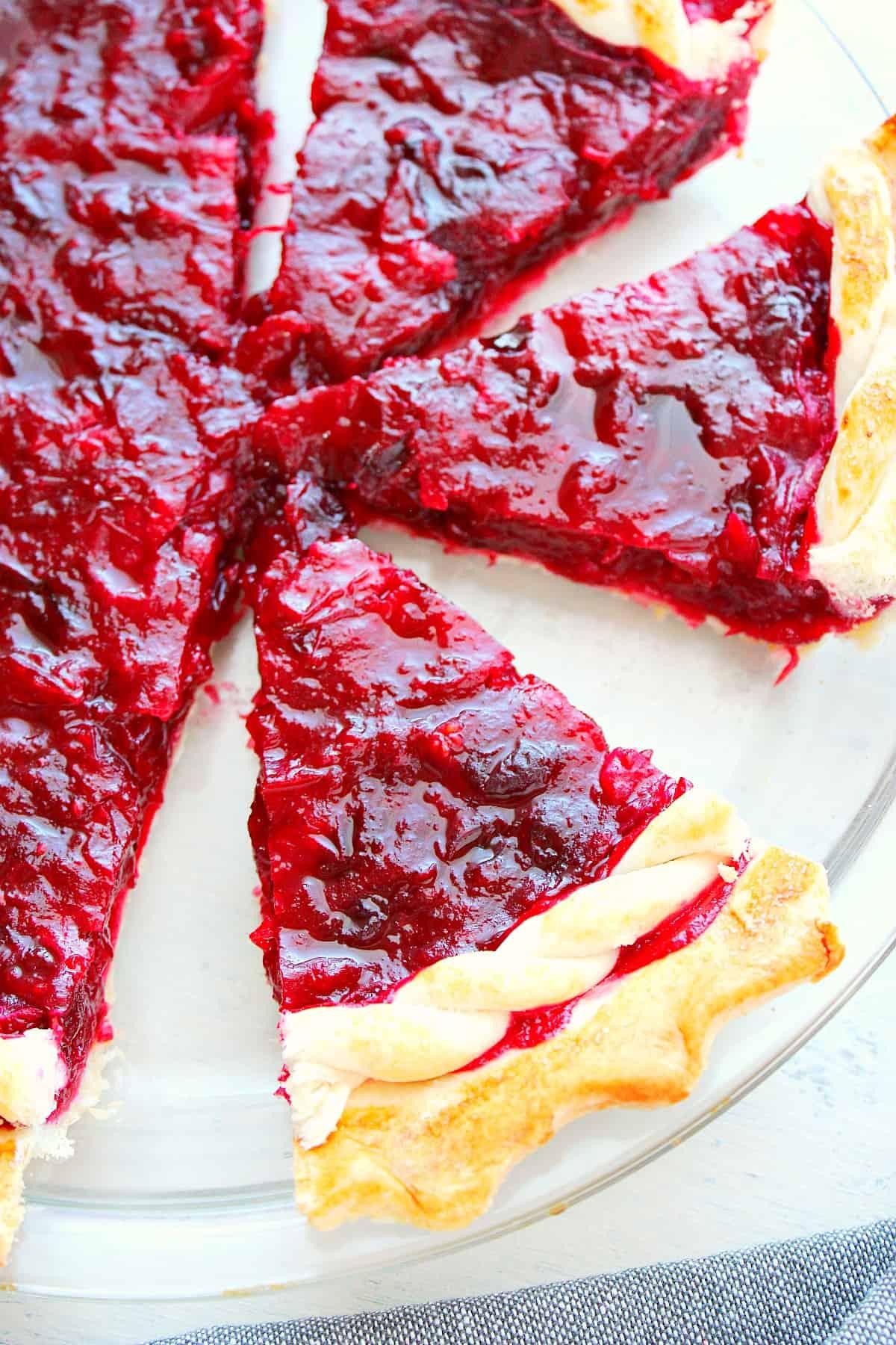 cranberry pie C Cranberry Pie