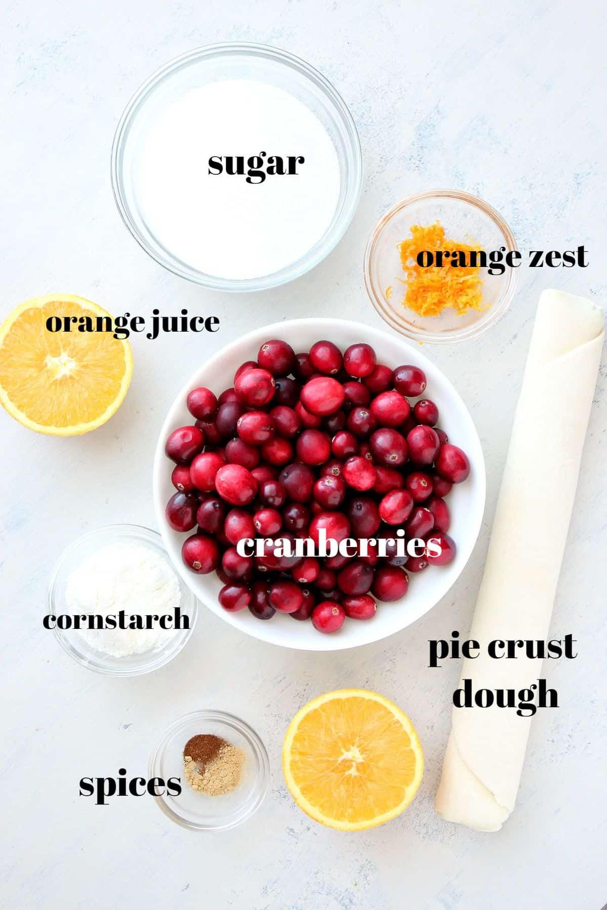 cranberry pie ingredients Cranberry Pie