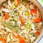 leftover turkey soup 2 150x150 Leftover Turkey Soup with Rice