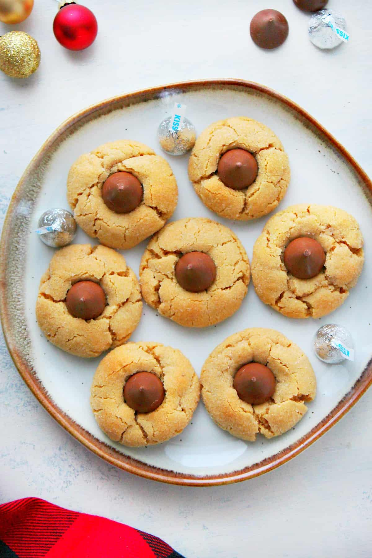 Peanut Butter Blossom Cookies A Peanut Butter Blossom Cookies