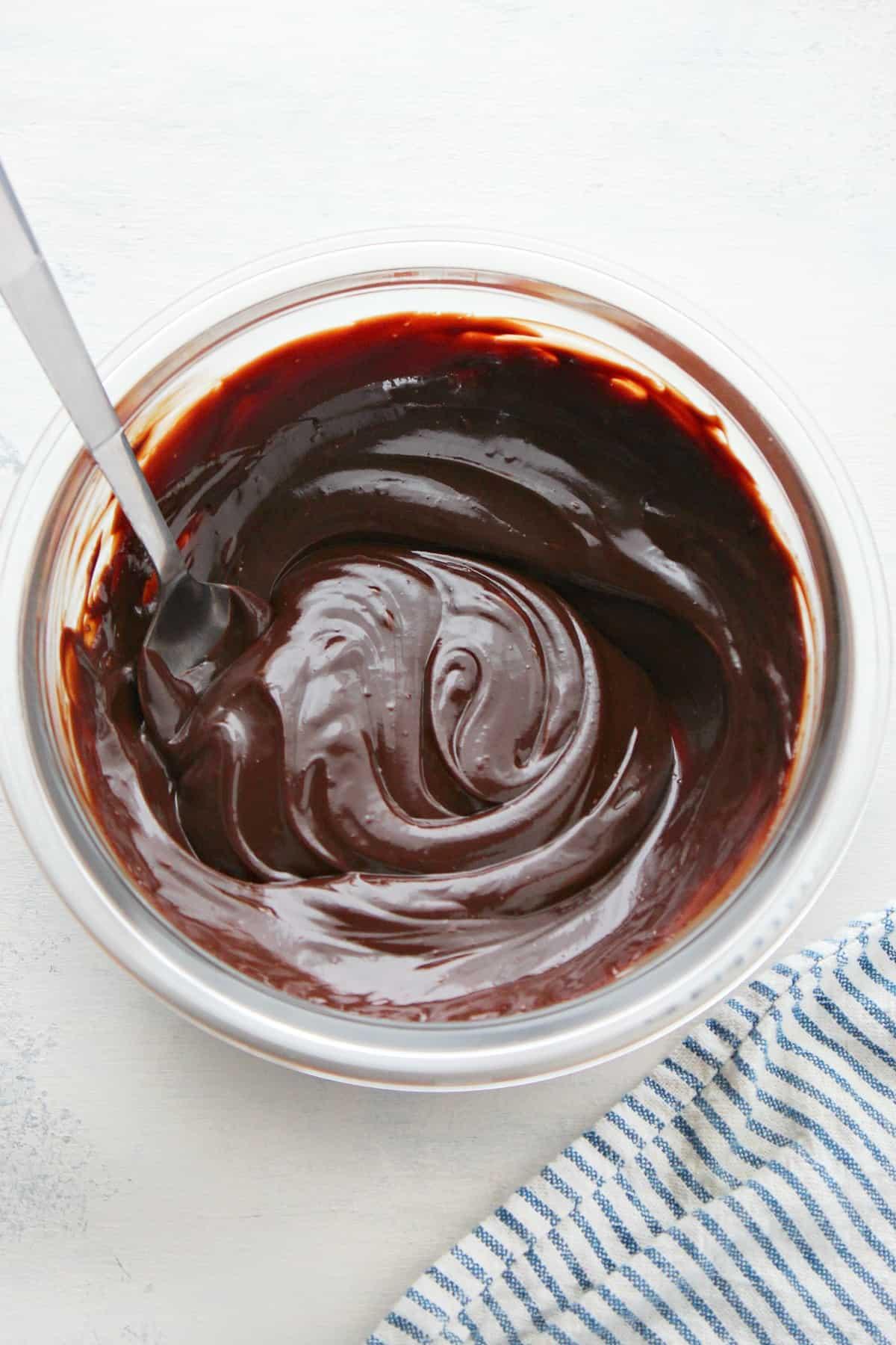 chocolate ganache D Easy Chocolate Ganache