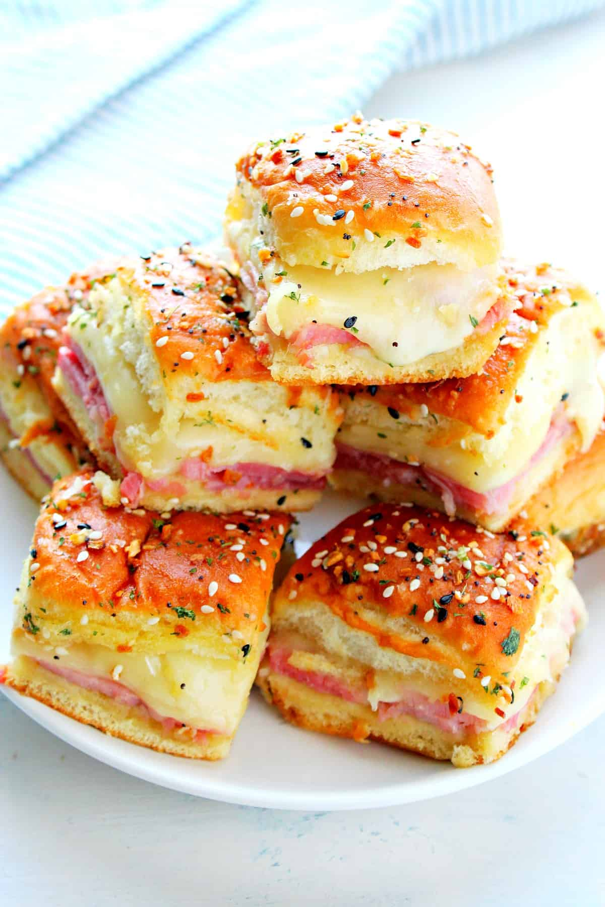 ham and cheese sliders B Ham and Cheese Sliders