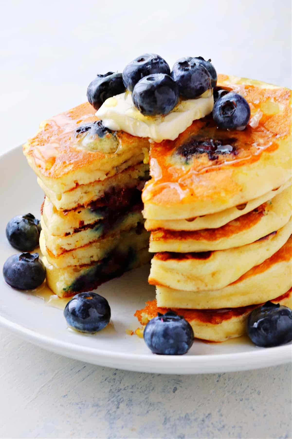 blueberry pancakes A Best Blueberry Pancakes