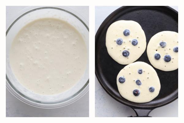 blueberry pancakes step 3 Best Blueberry Pancakes