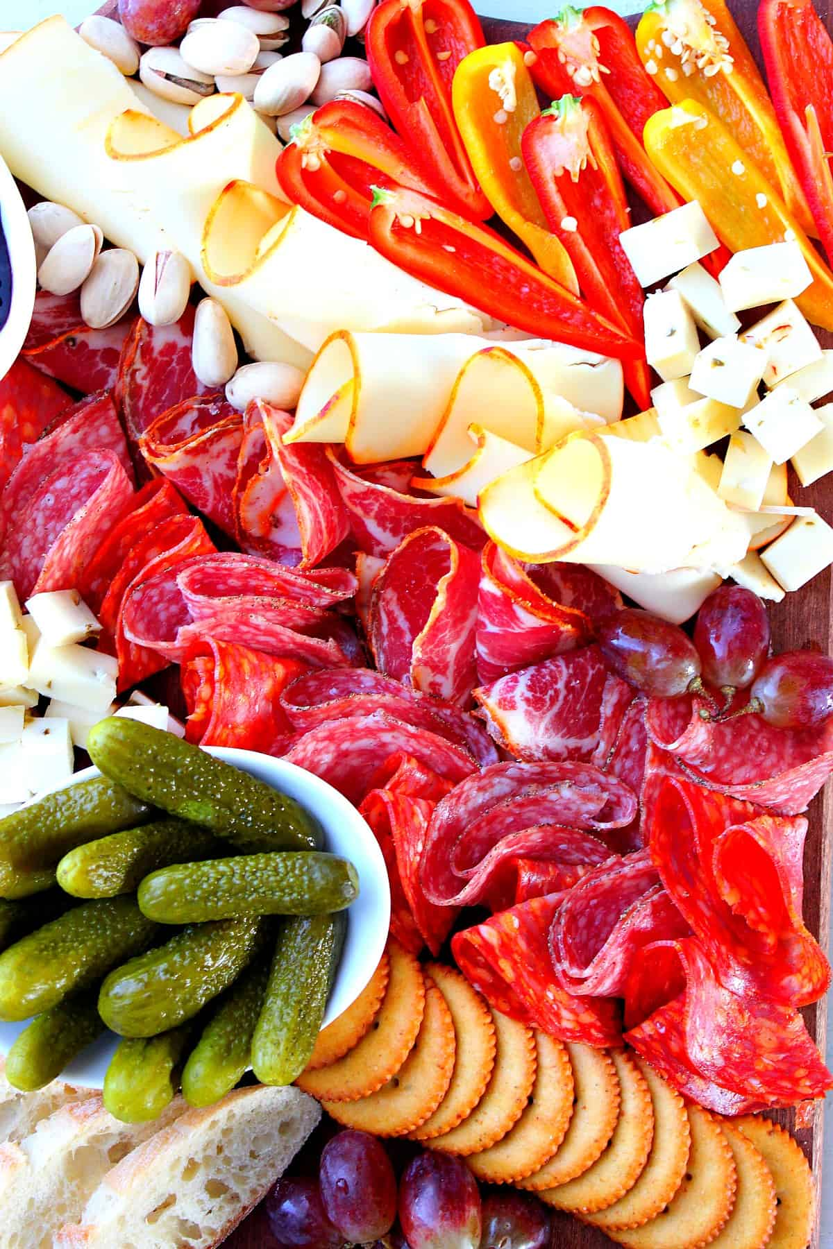 cheese board A Simple Charcuterie Board