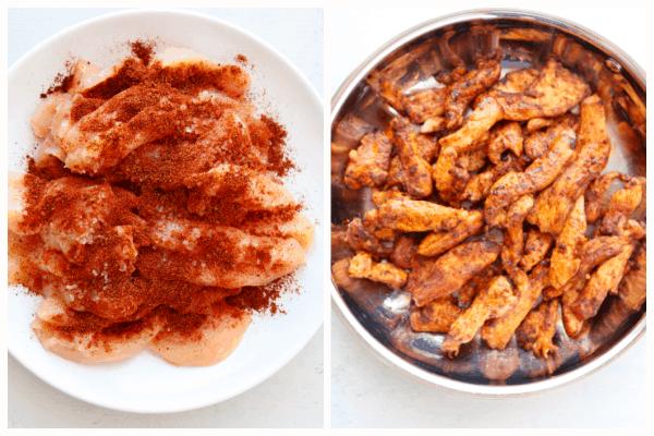 chicken fajitas step 1 Easy Chicken Fajitas