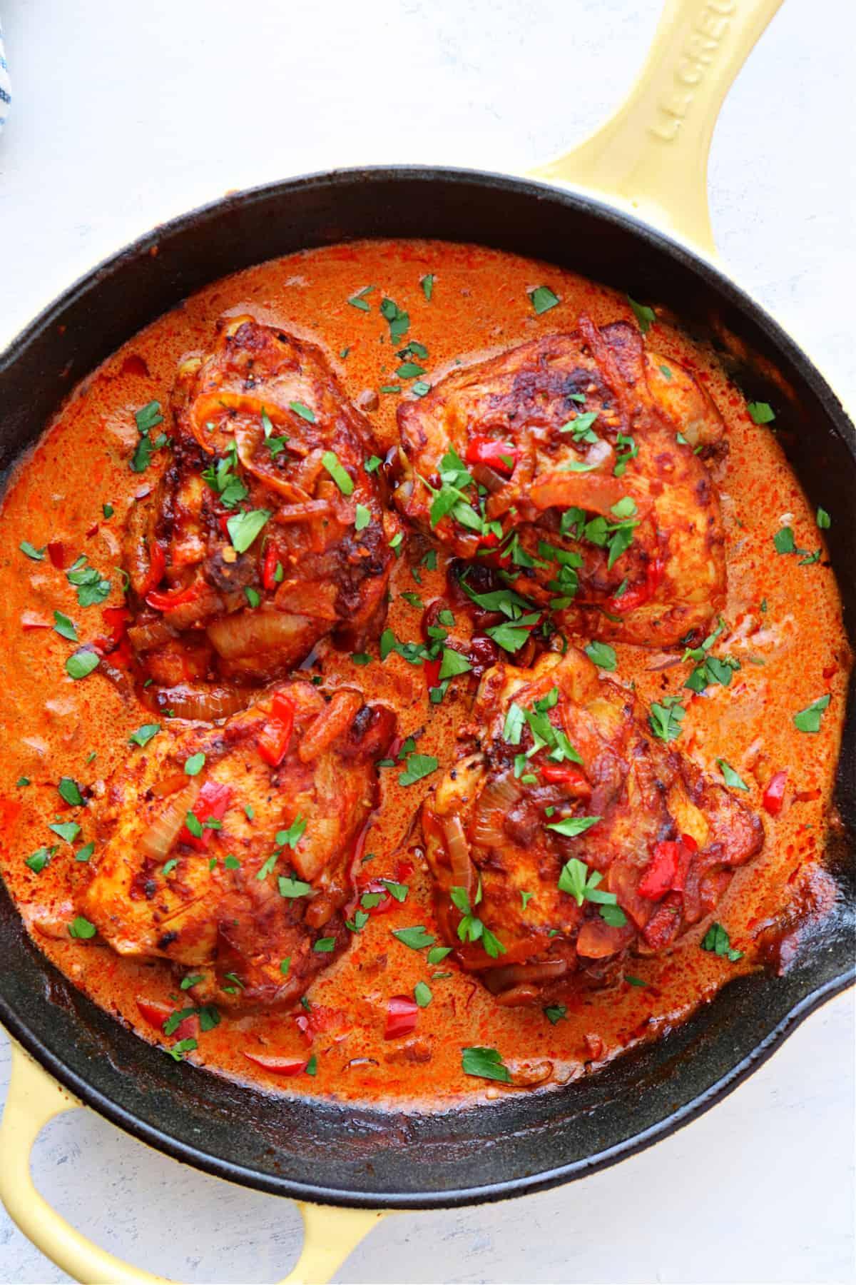 chicken paprikash A Chicken Paprikash
